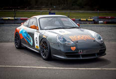 Country Classics UK's no.6 Porsche 996 Racecar on Forgeline One Piece Forged Monoblock GS1R Wheels