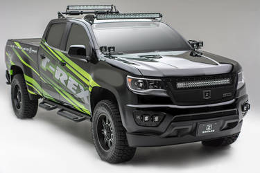 2015   | ZROADZ / T-Rex Grilles 2015 Colorado SEMA Build