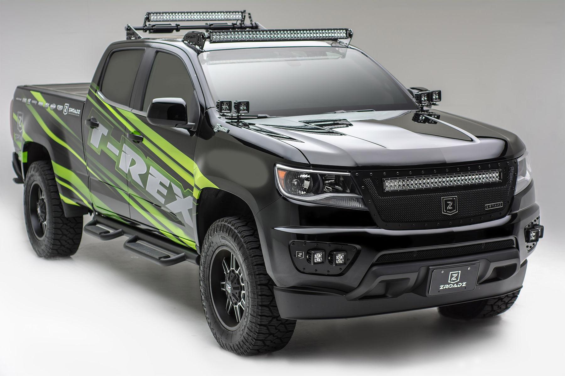 2015   | ZROADZ / T-Rex Grilles 2015 Colorado SEMA Build
