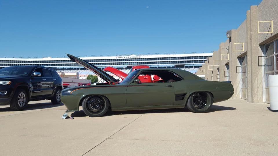 1969 Chevrolet Camaro | G3 Rods T-Rex Camaro on Forgeline SP3P Wheels