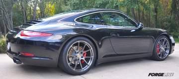 Lonnie Carey's 991 Porsche Carrera S on Forgeline One Piece Forged Monoblock GA1R Wheels