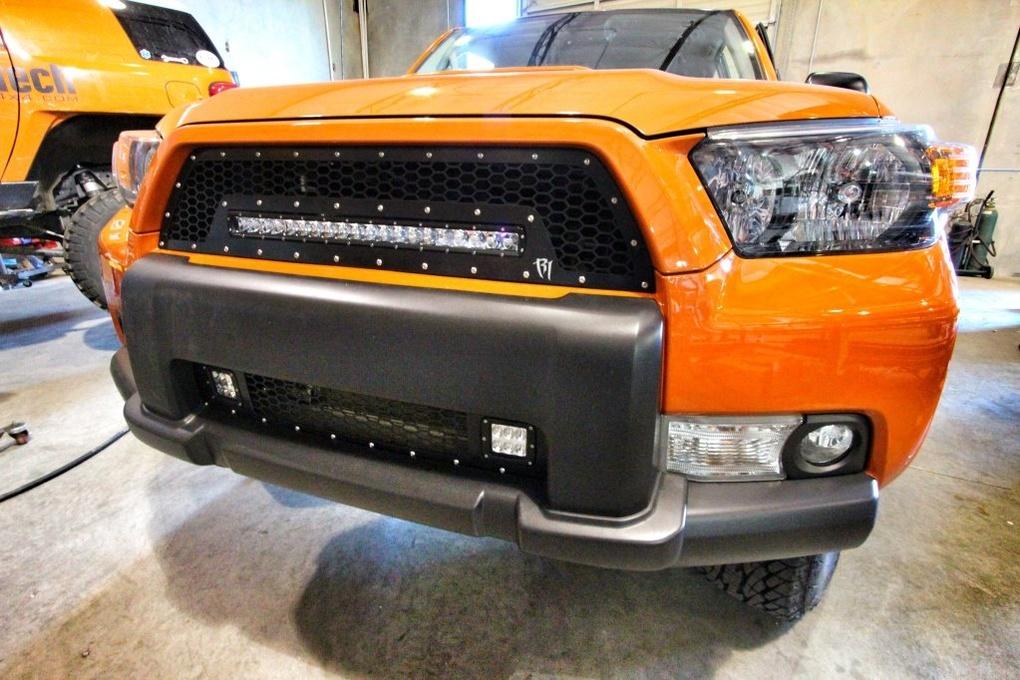 Toyota 4Runner | Rigid Industries LED Grille - Toyota 4Runner 2010-2013