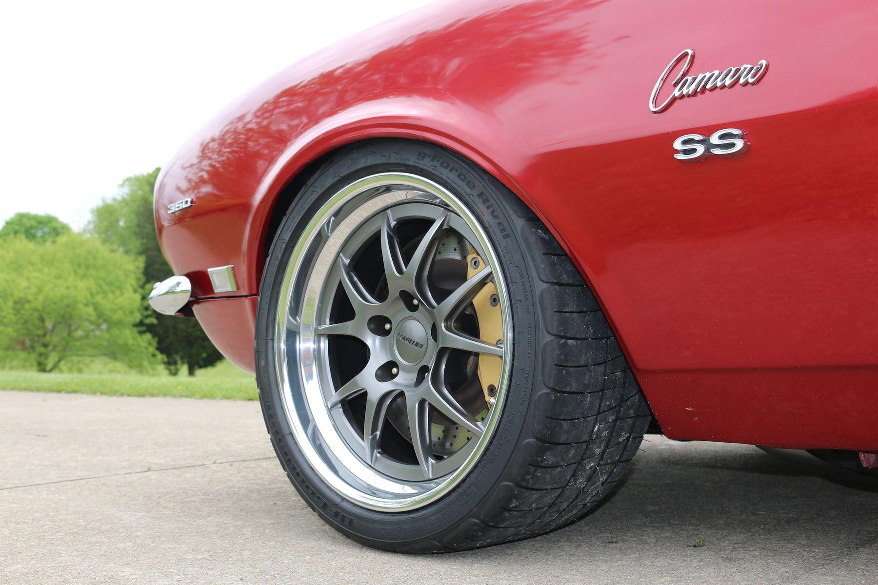 1968 Chevrolet Camaro | Nathan Johnson's Incredible 1968 Camaro on Forgeline GA3 Wheels