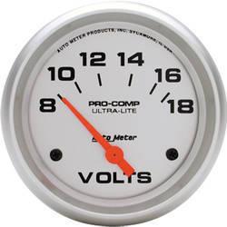 Auto Meter Ultra-Lite Voltmeter