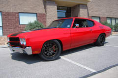 Alan Miller's Pro-Touring 1970 Chevy Chevelle on Forgeline RB3C Wheels
