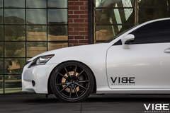 """Lexus GS350 on 20"""" Gianelle Wheels - Driver Side Front Wheel"""