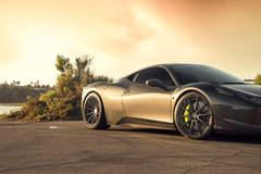 Ferrari 458 Italia - ADV1 ADV10 M.V2 SL Series Wheels