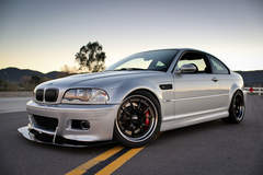 Mark Gearhart's BMW E46 M3 on Forgeline GA3R Wheels