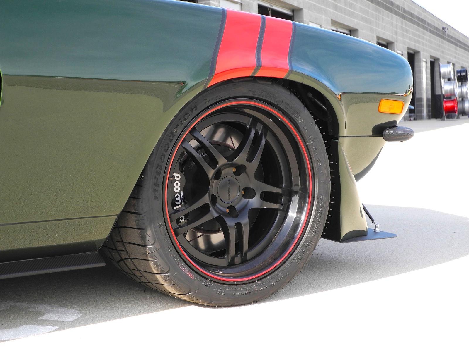 1973 Chevrolet Camaro   Camaro on Forgeline DS3 Wheels