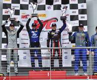 PF Racing's #55 Ford Mustang GT4 Wins at COTA on Forgeline One Piece Forged Monoblock GS1R Wheels