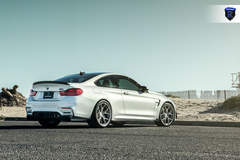 BMW M4 - White Rear Angled Side
