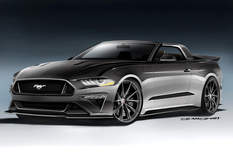 2018 ford mustang gt convertible by speedkore ford sema 2017