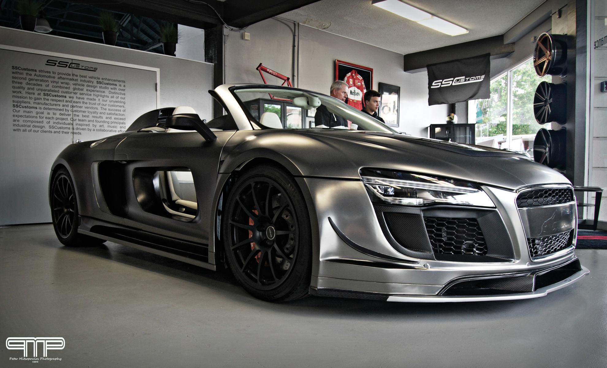 Audi R8 | PPI Razor Audi R8 Spyder