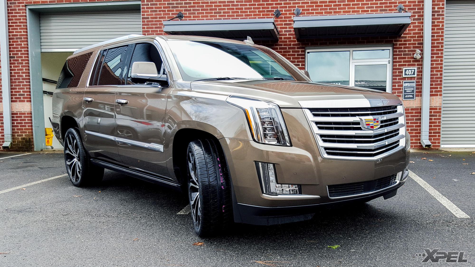 2016 Cadillac Escalade | Cadillac Escalade with XPEL ULTIMATE