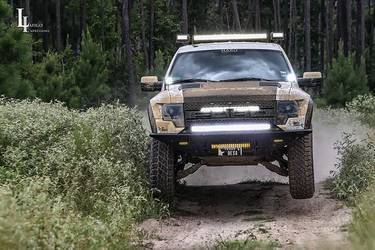 2010-2014 FORD RAPTOR STEALTH FIGHTER FRONT BUMPER | NO WINCH MOUNT