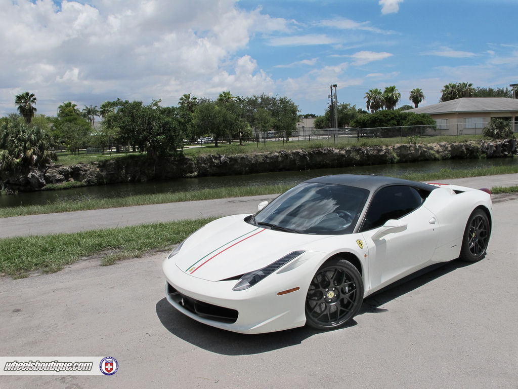 Ferrari 458 Italia | Ferrari 458 on HRE P40SC