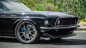 Hal Baer's Pro-Touring '69 Mustang Fastback on Forgeline One Piece Forged Monoblock GA1R Wheels