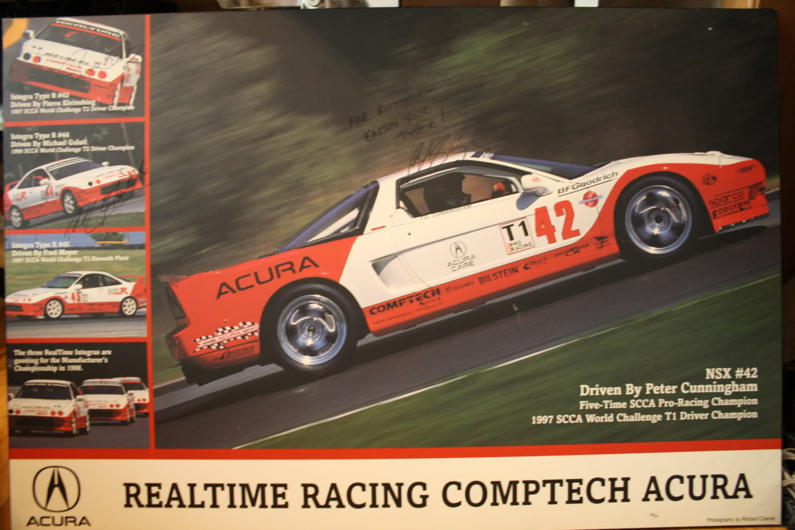 1996 Acura NSX   1997 World Challenge Champion Peter Cunningham and the RealTime Racing Acura NSX on Forgeline RS Wheels