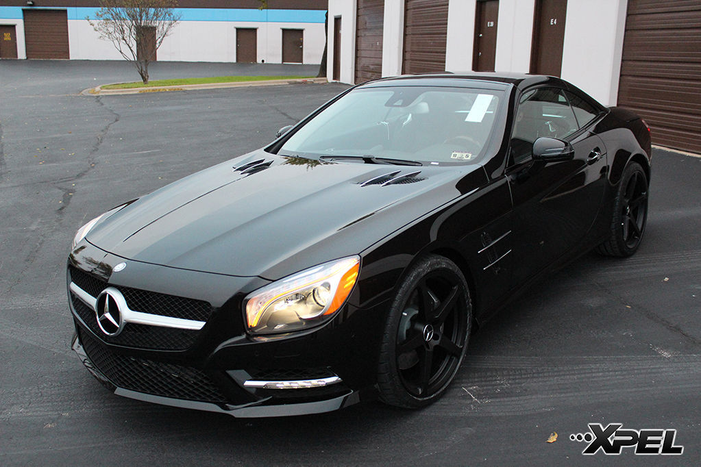 2014 Mercedes-Benz SL-Class | SL550 with XPEL ULTIMATE self-healing clear bra