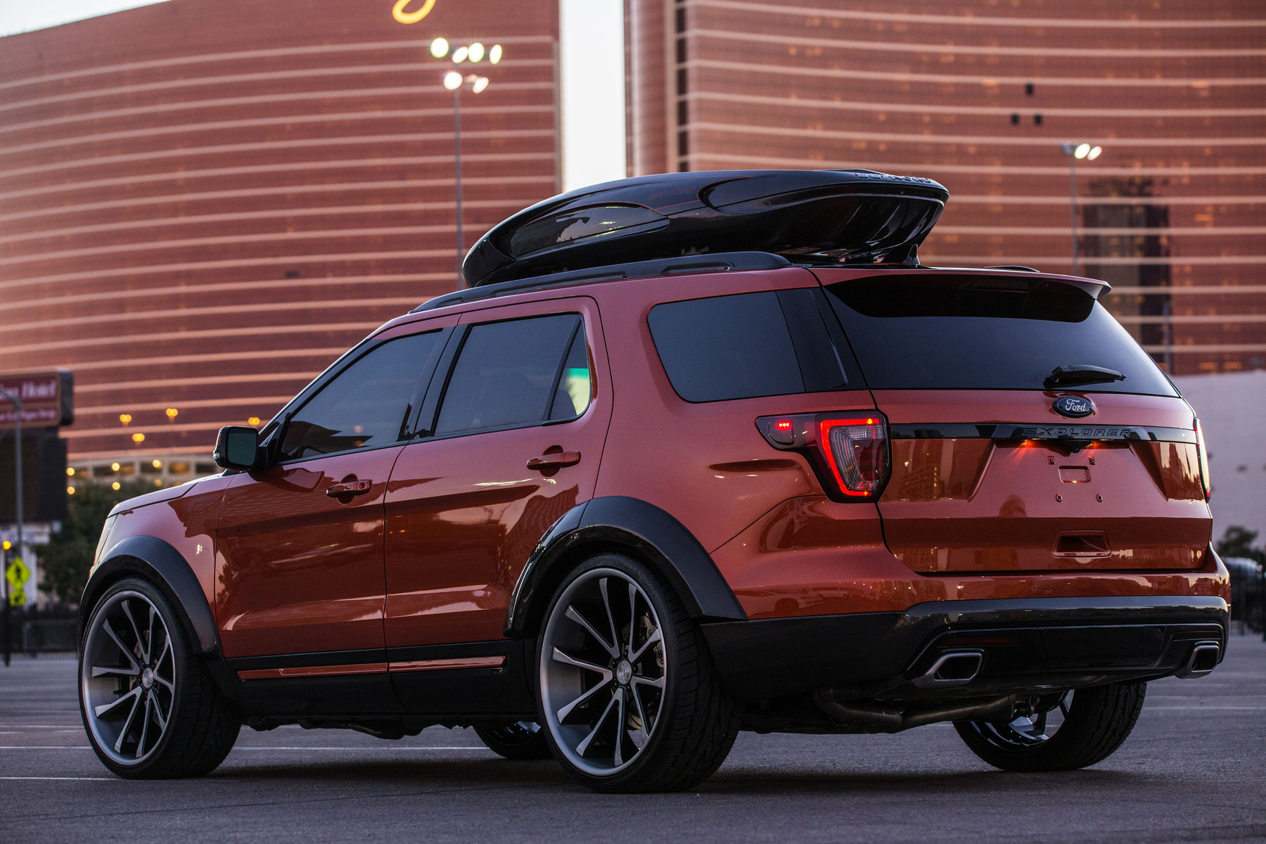 2015 Cars By Kris Ford Explorer Sport Rear Shot