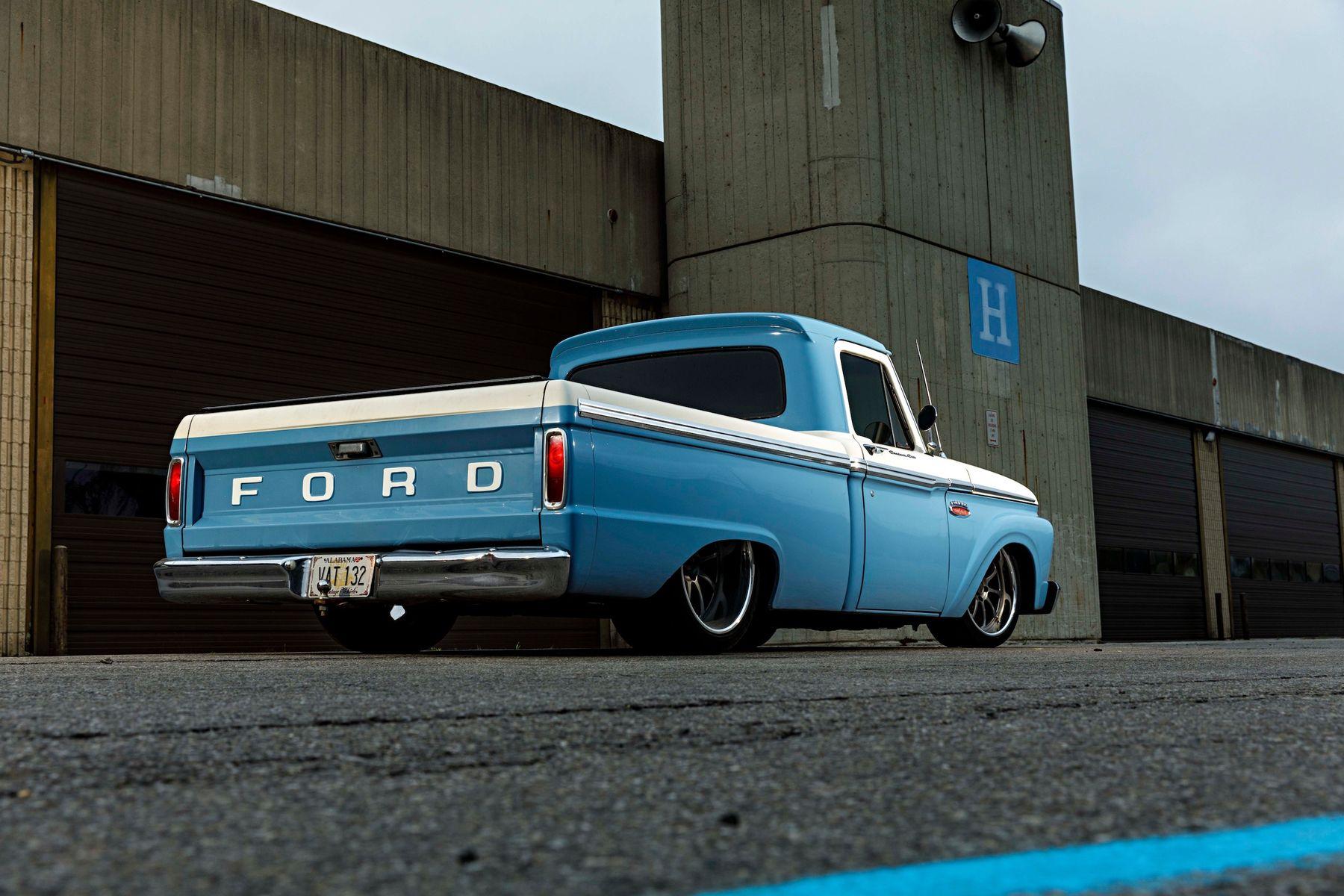 1965 Ford F-150 | Jimmy Butler's Big Oak Garage Ford F-100 on Forgeline ZX3P Wheels