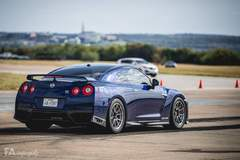 "T1 Race Development's 2017 Nissan GT-R ""Shop Car"" on Forgeline One Piece Forged Monoblock GS1R Wheels"