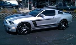 Mustang Boss 302 on Ruff R954's