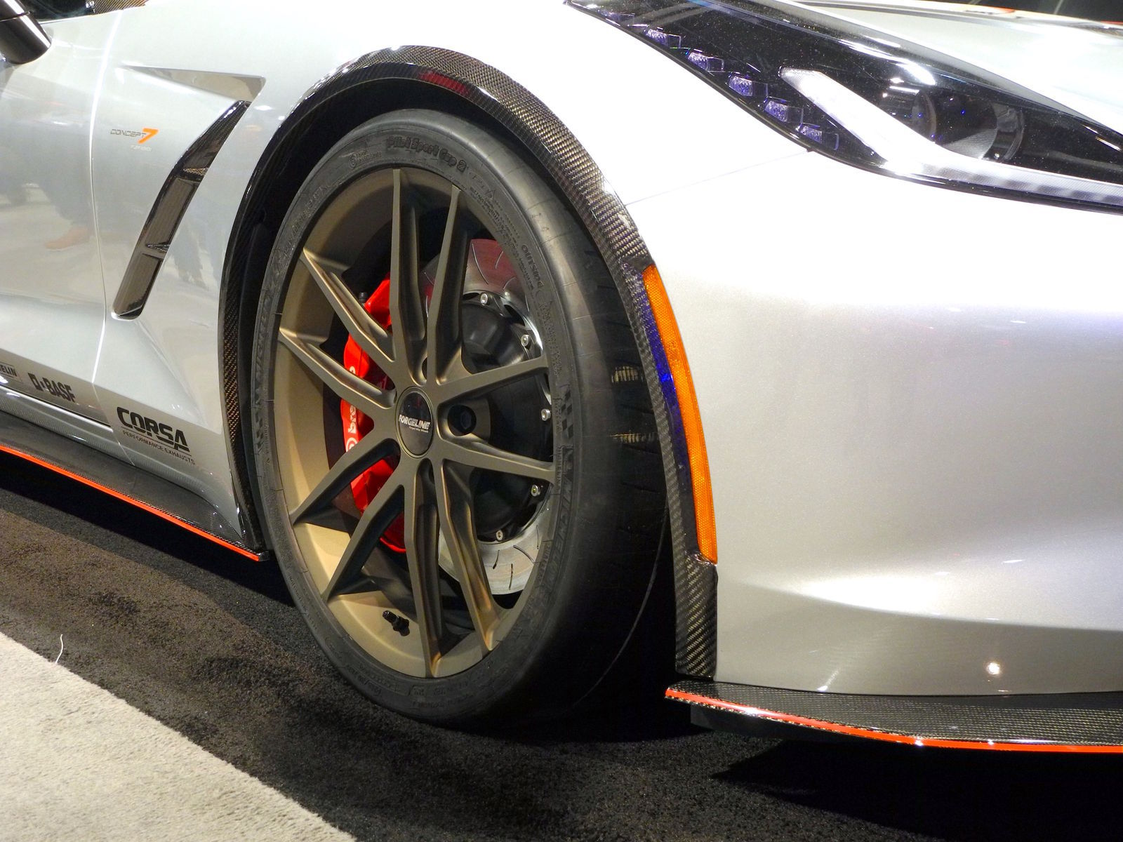 2015 Chevrolet Corvette | Nowicki Autosport Design Concept 7 Corvette on Forgeline One Piece Forged Monoblock AR1 Wheels