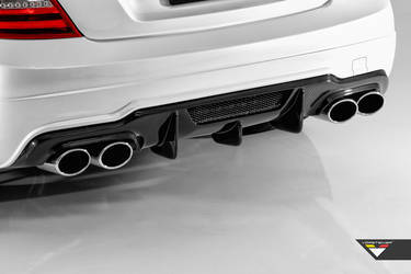 C63 AMG Coupe Rear Diffuser