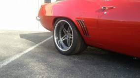 Jeff Romer's Pro-Touring '69 Camaro on Forgeline SP3P Wheels