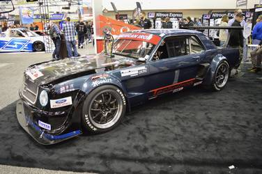 1965 Ford Mustang | Brian Faessler's National Championship American Iron Xtreme '65 Mustang on Forgeline GA3R Wheels
