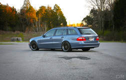 Open Road Tuning E500 Wagon on Forgeline LS3 Wheels
