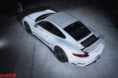 Turn In Concepts Porsche 911 Carrera T on Forgeline One Piece Forged Monoblock GA1R Open Lug Wheels