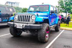 Jeep Wrangler at Cars and Coffee San Antonio