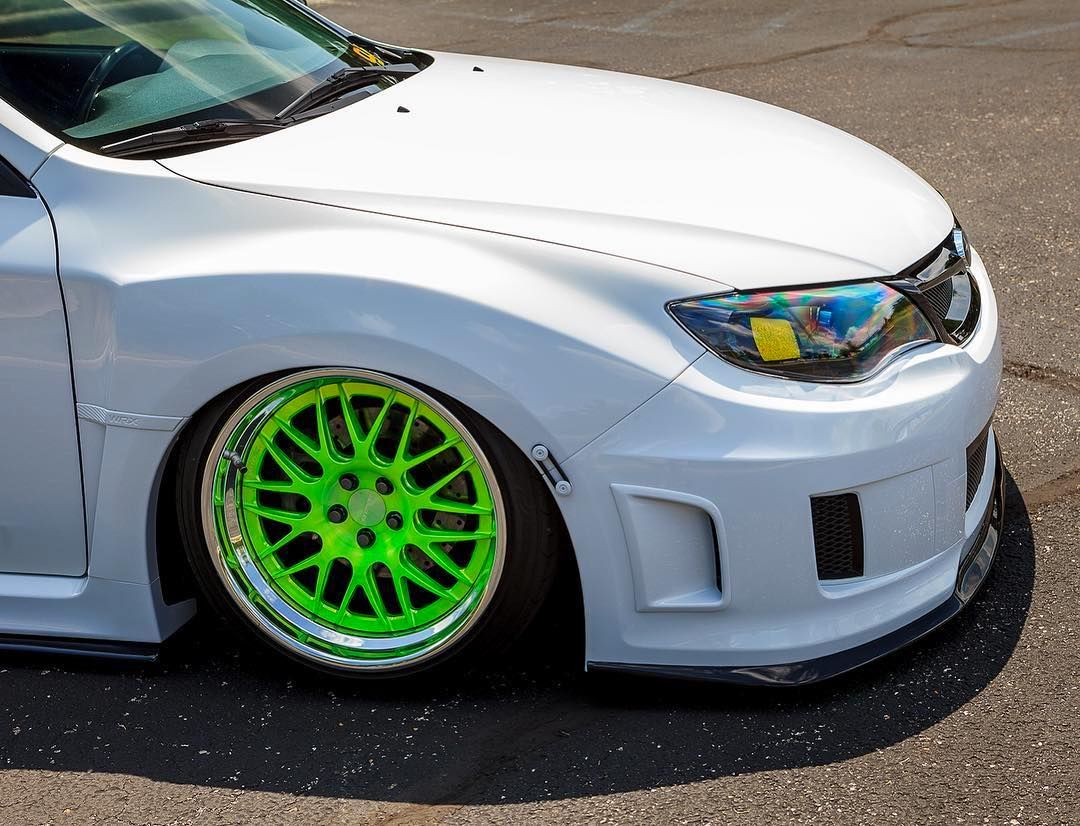 2012 Subaru WRX | Corey West's Slammed Subaru WRX on Forgeline GX3 Wheels