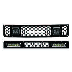 Rigid Industries LED Grille for Toyota FJ Cruiser (Fits two 6