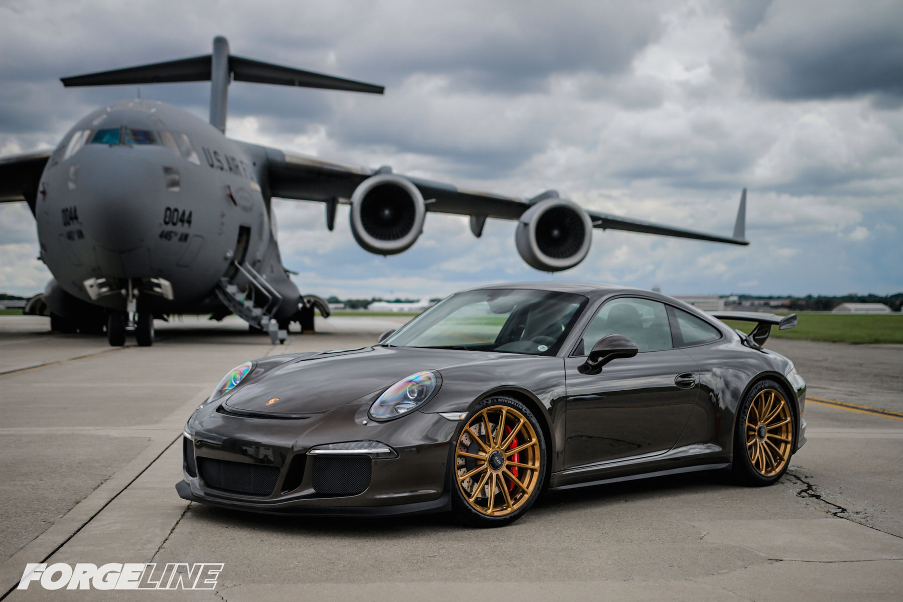 2015 Porsche 911 | Jim Schardt's Porsche 991 GT3 on Forgeline One PIece Forged Monoblock GT1 Wheels