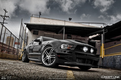 '12 Ford Mustang on Concept One RS55's