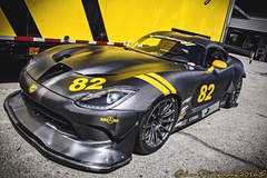 McCann Racing's Carbon Fiber Dodge Viper G5R on Forgeline One Piece Forged Monoblock GTD1-Viper Wheels