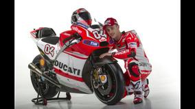 2014 Ducati MotoGP Press Event - Crutchlow & Dovizioso