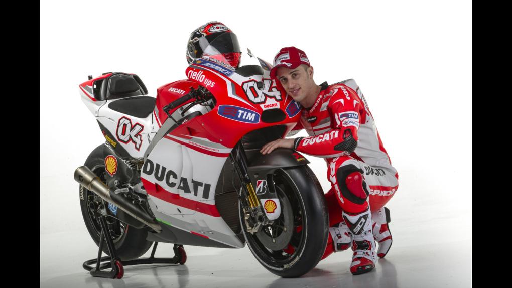 2014 Ducati  | 2014 Ducati MotoGP Press Event - Crutchlow & Dovizioso