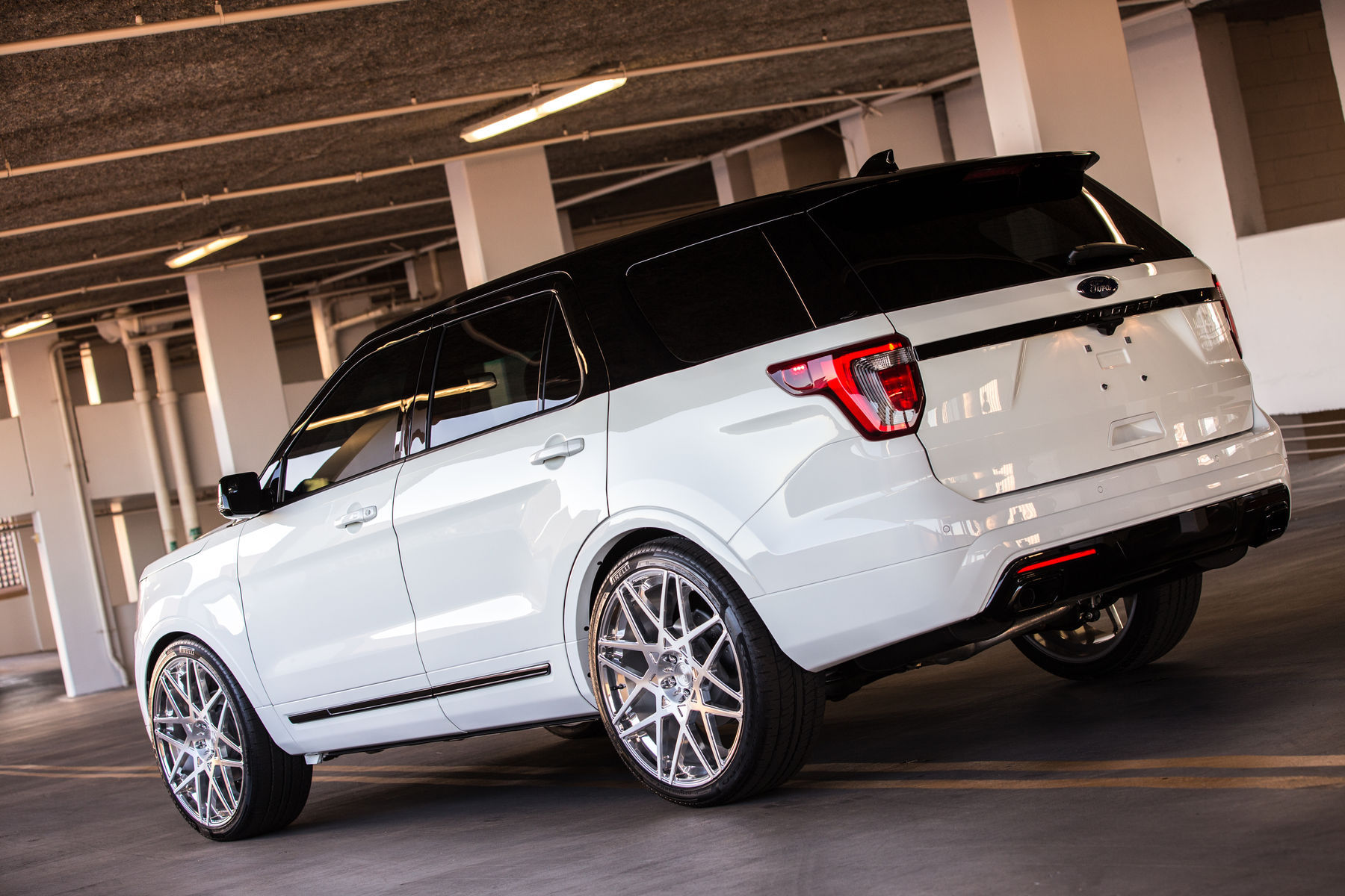 2015 Ford Explorer Sport | 2015 MAD Industries Ford Explorer Sport - Rear Angled View