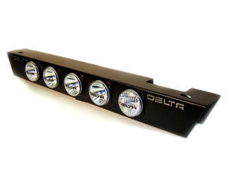 Combo Ground Light Bar - 3-Function: Driving, Peripheral, Rock Crawlers (7 lights) - Xenon