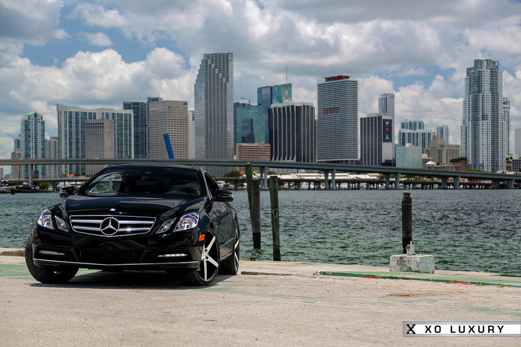 2012 Mercedes-Benz E-Class | Mercedes-Benz E350 on XO Miami's