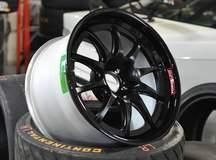 Forgeline GZ3R Lightweight Racing Wheel in Satin Black