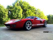 Reza K's Ford GT on Center Locking Forgeline SC3C-SL Concave Stepped Lip Wheels