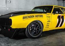Brendon Neiman's Mitchell Race Xtreme Camaro on GA3R Wheels