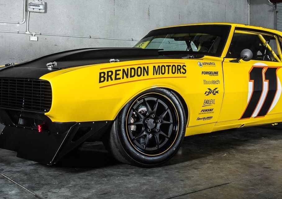 1968 Chevrolet Camaro | Brendon Neiman's Mitchell Race Xtreme Camaro on GA3R Wheels
