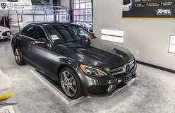 Mercedes-Benz with XPEL ULTIMATE protection