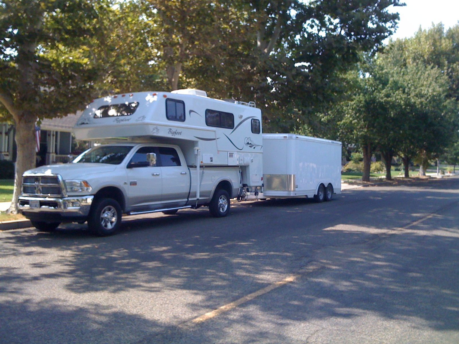 2011 Ram 3500 | Mark's Dodge and Towing Set Up